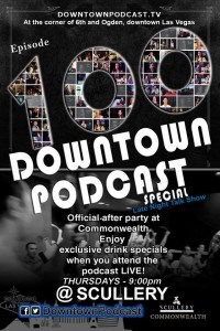 Downtown Podcast Episode 100