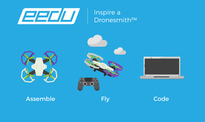 EEDU An easy educational drone kit for learning robotics