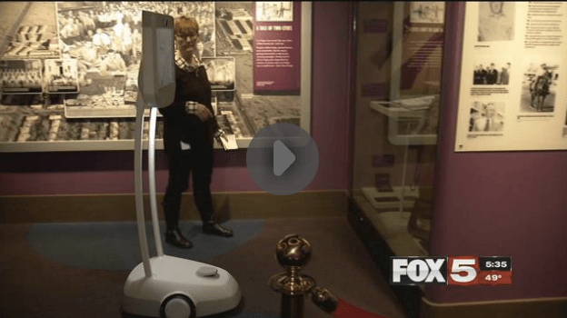 Robot to provide virtual tours of Mob Museum
