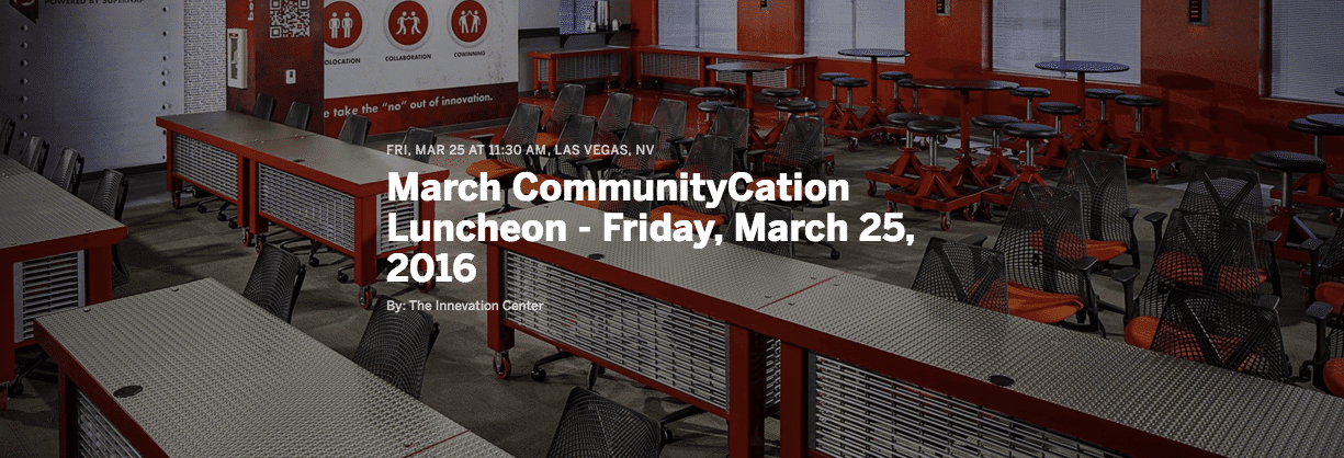 March CommunityCation Luncheon