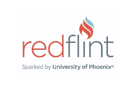 RedFlint experience center logo