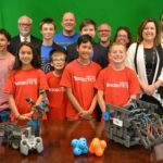 Henderson Chamber of Commerce adopts a kids robotic team