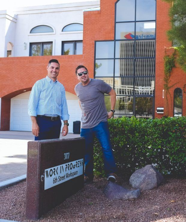 Introducing Kenny and Kurt, the new owners of Work in Progress, a popular coworking space in Las Vegas