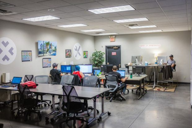 coworking spaces foster connectivity