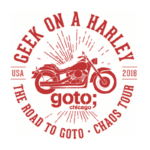 Geek on a Harley Logo